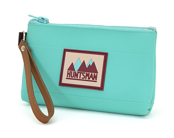 Teal Small Zipper Pouch