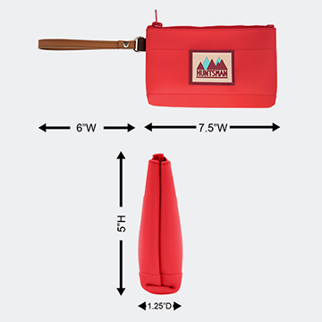 Small Zipper Pouch Dimensions