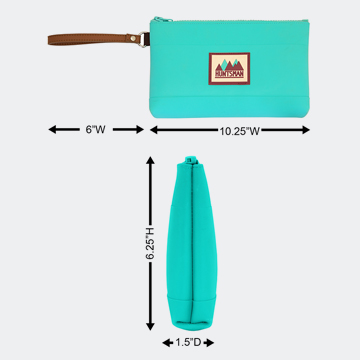 Medium Zipper Pouch Dimensions